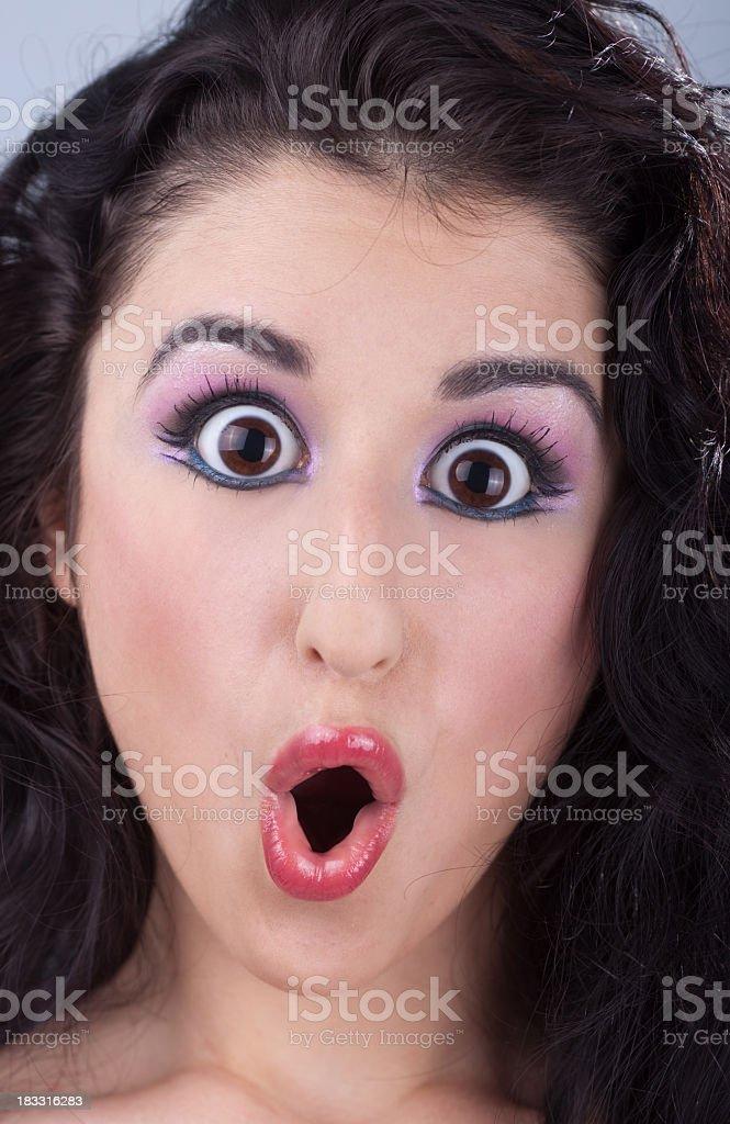 Big eye stock photo