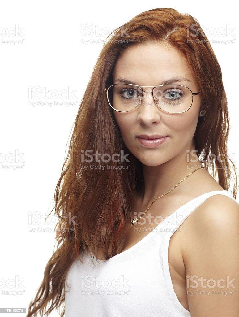 Big eyed beauty royalty-free stock photo