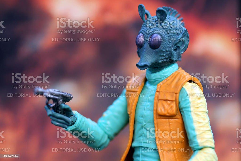 Big Eyed Hunter stock photo