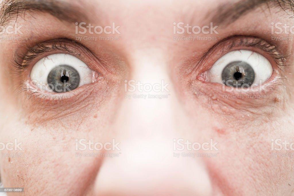 Big eyes stock photo