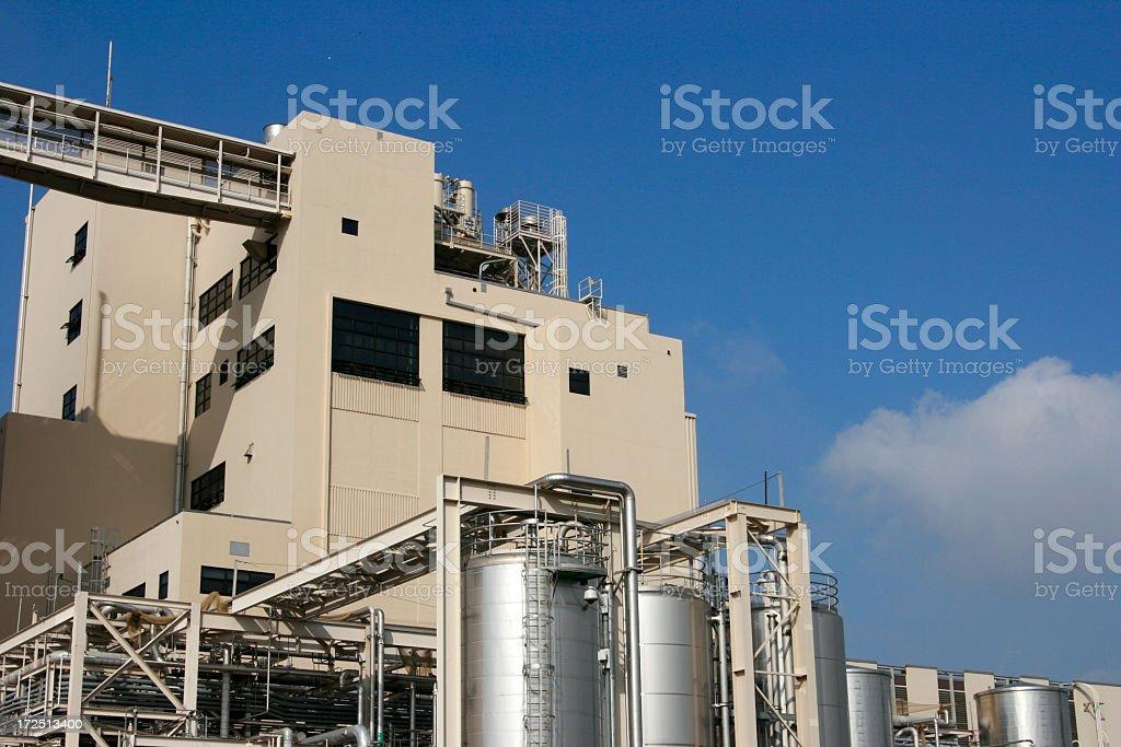 Big Factory royalty-free stock photo