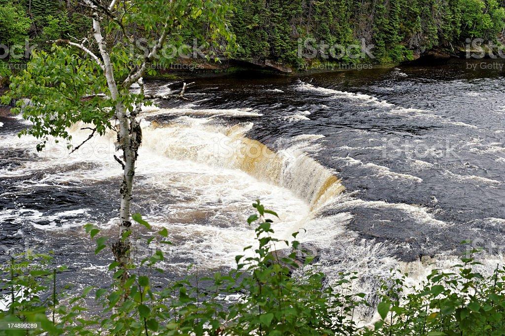Big  Falls royalty-free stock photo
