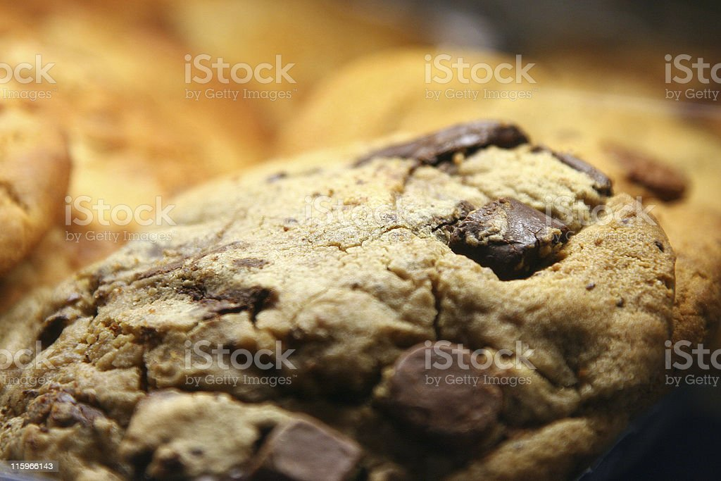 Big fat cookie royalty-free stock photo