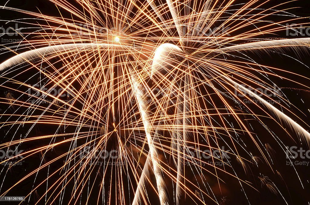 Big Fireworks royalty-free stock photo