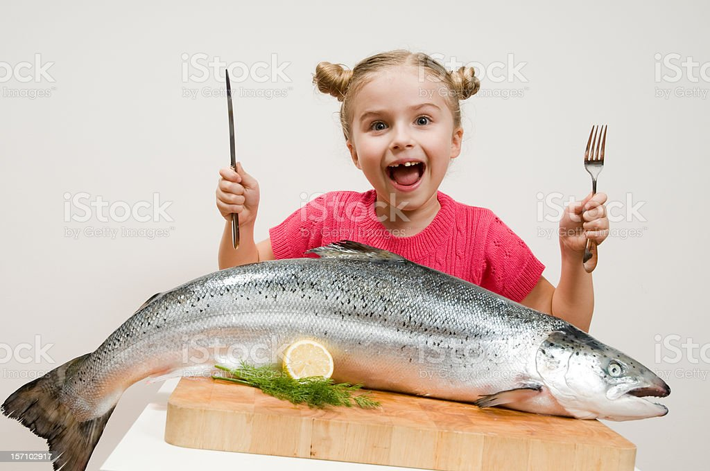 Big fish stock photo