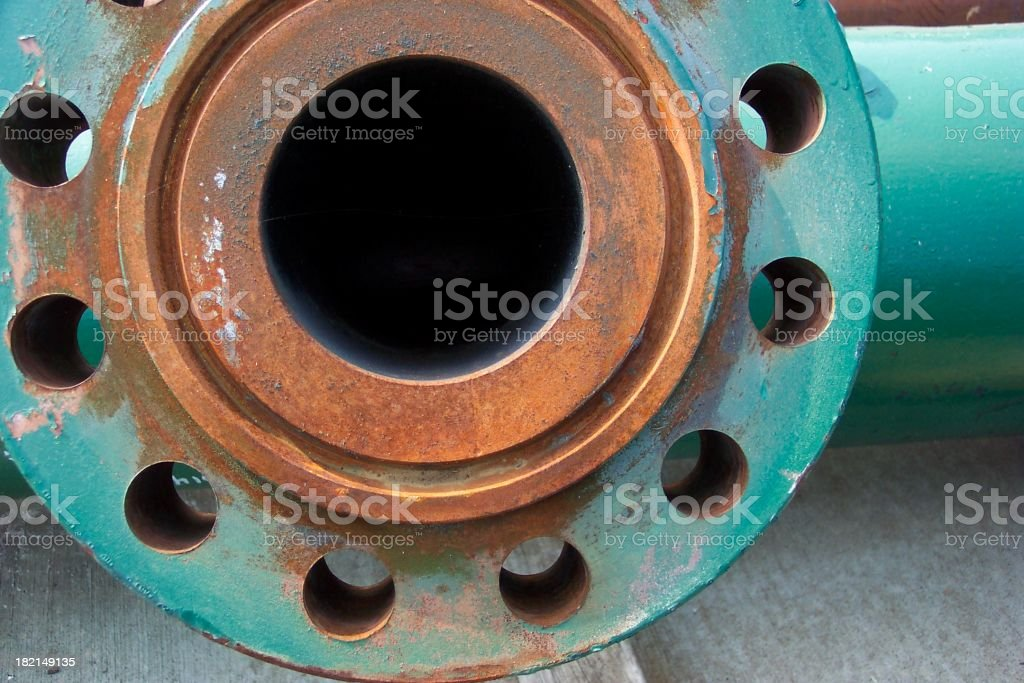 Big Flange royalty-free stock photo
