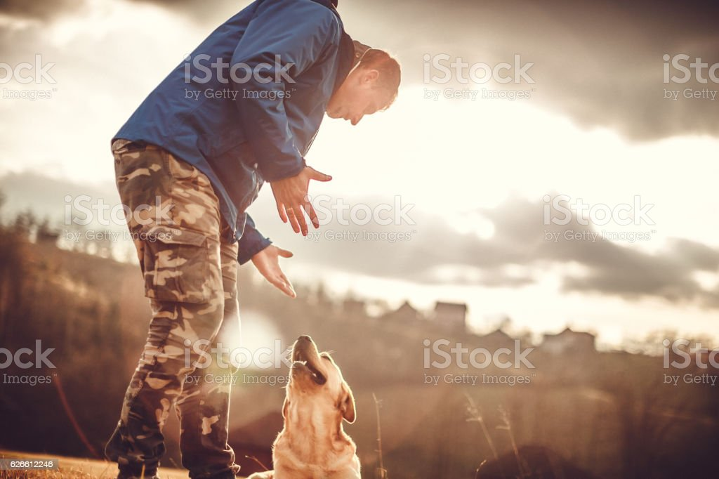 Big friendship stock photo