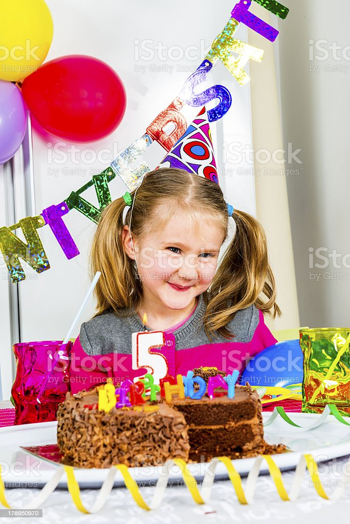 big funny birthday party royalty-free stock photo