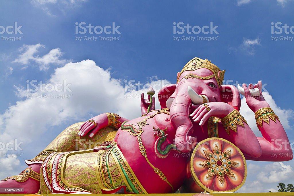 Big Ganesha royalty-free stock photo