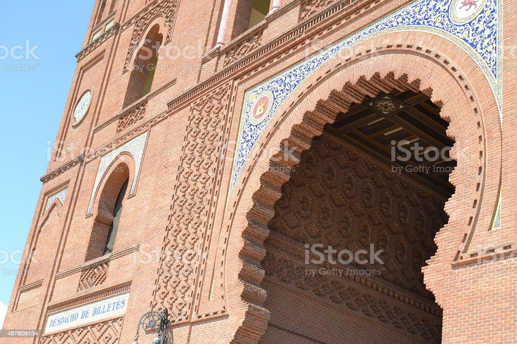 Big Gate of Las Ventas stock photo