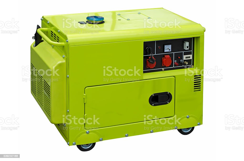 Big generator stock photo
