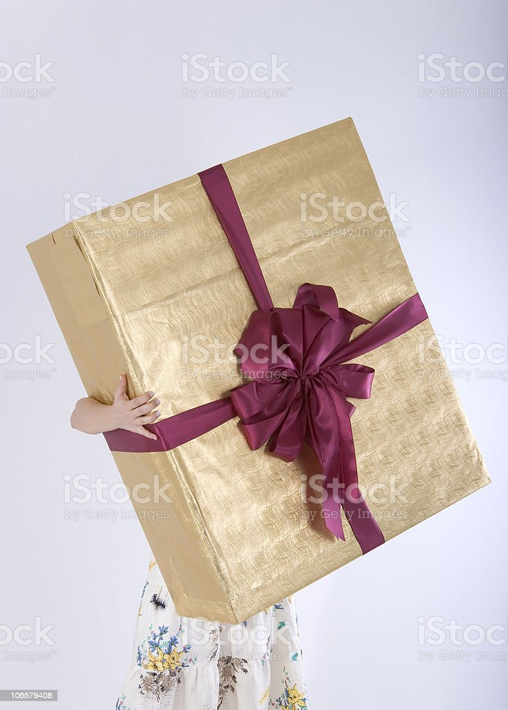 Big Gift Box royalty-free stock photo
