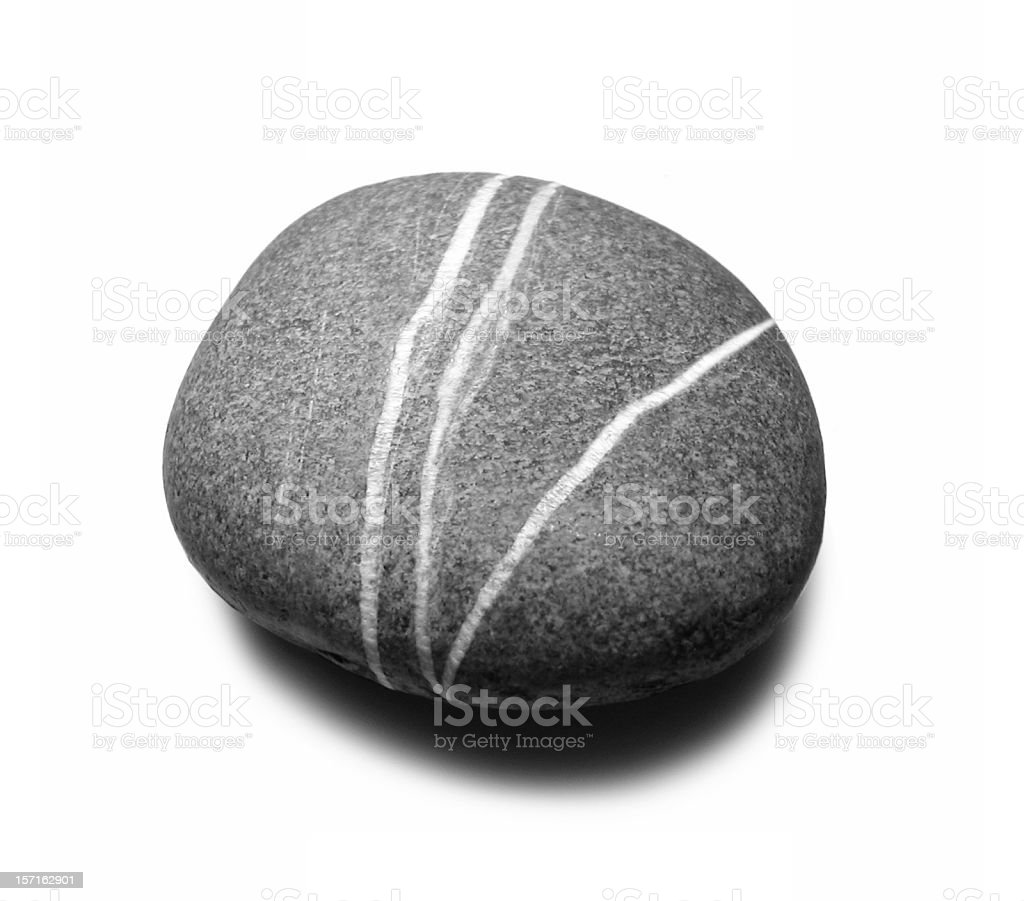 big grey stone stock photo