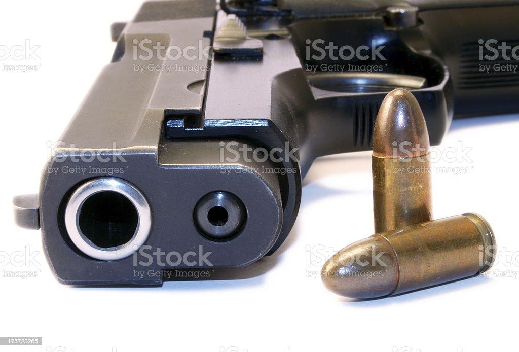 Big gun royalty-free stock photo