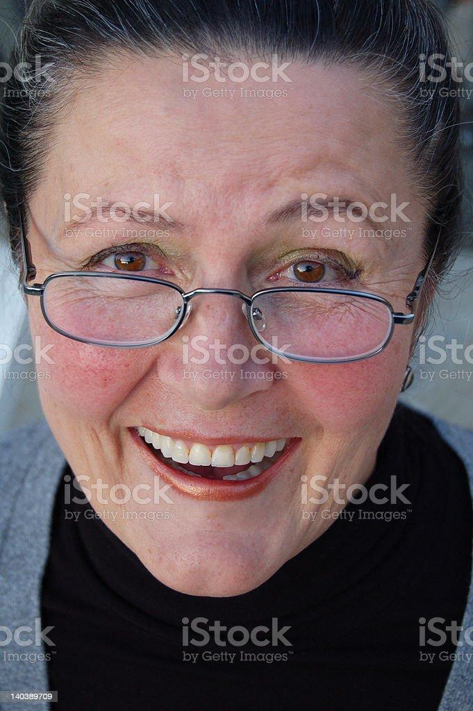 Big, happy smile! royalty-free stock photo