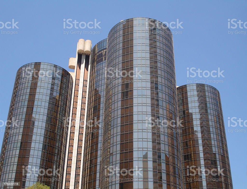Big Hotel Westin Bonaventure Los Angeles stock photo