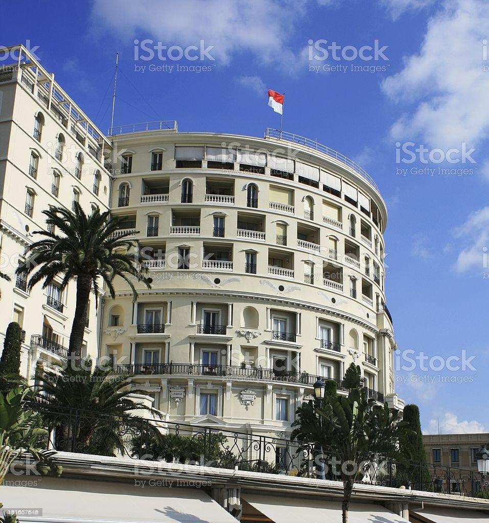 big house in Monte Carlo stock photo