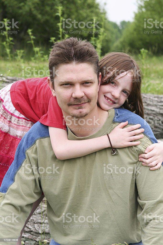 Big Hug royalty-free stock photo
