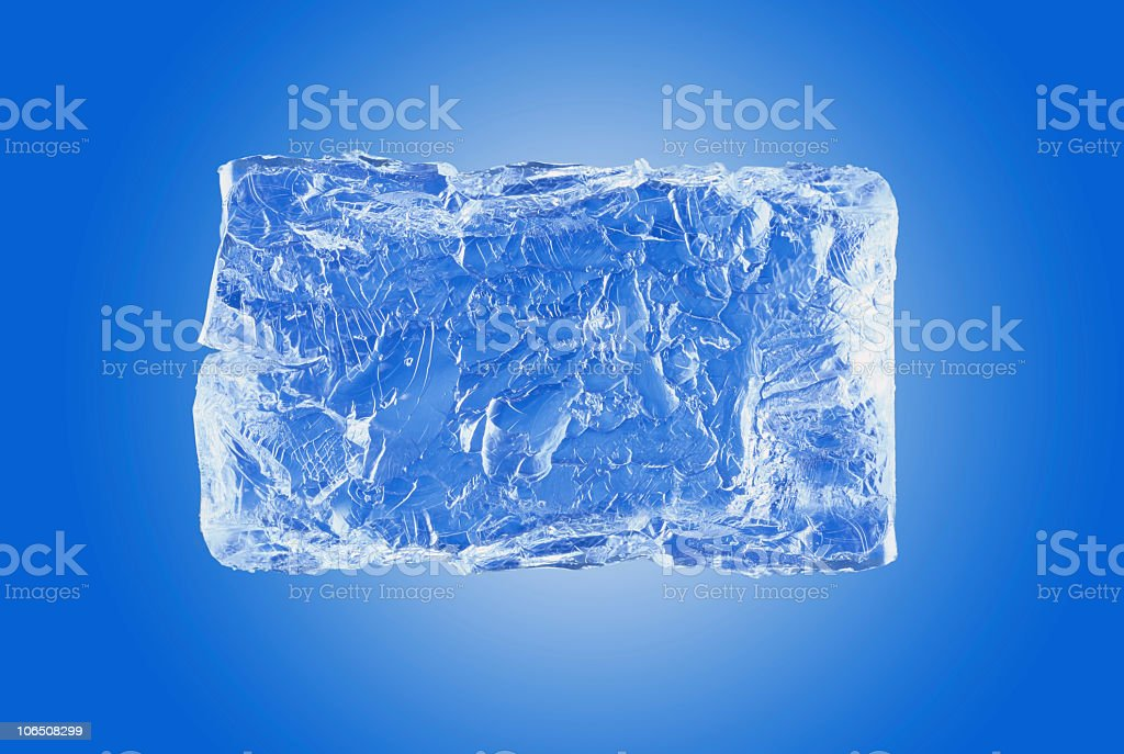 Big Ice Cube royalty-free stock photo