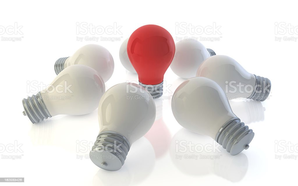 Big Idea royalty-free stock photo