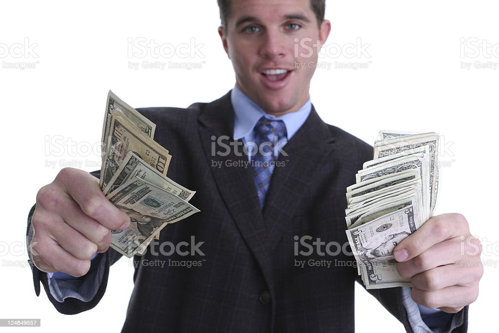 big income royalty-free stock photo