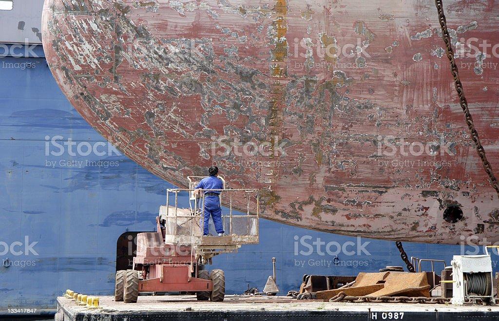 Big Job stock photo