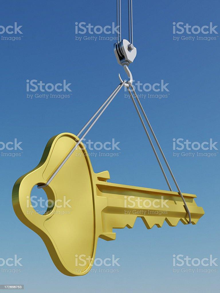 Big Key stock photo