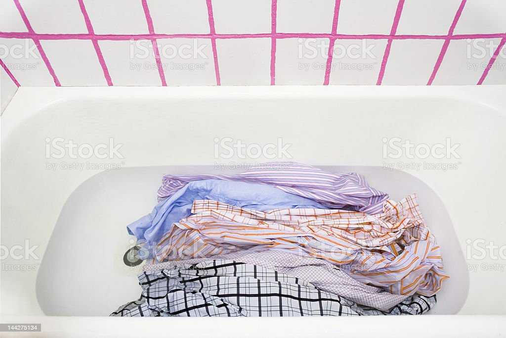 big laundry royalty-free stock photo