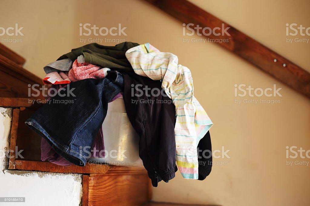 big laundry royalty-free stock photo