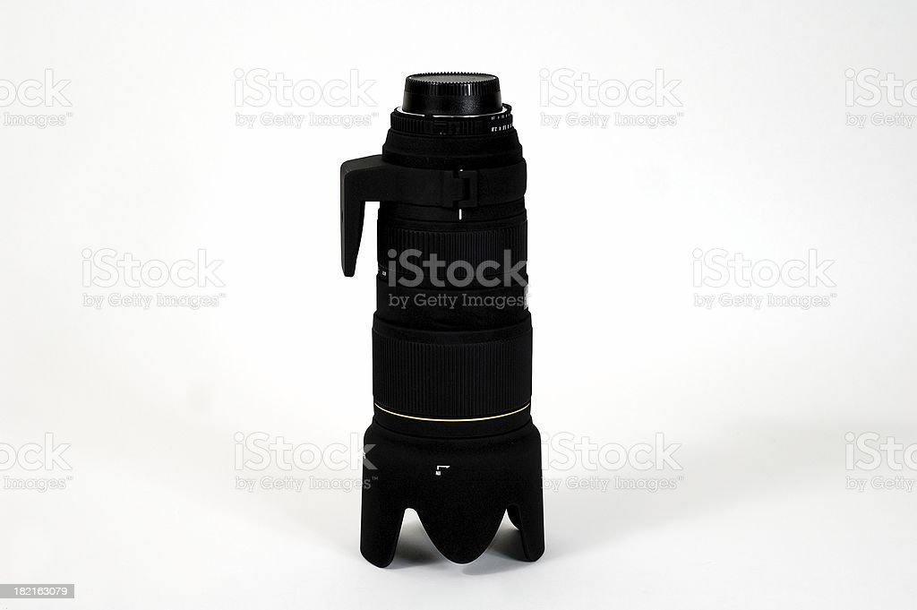 Big lens royalty-free stock photo