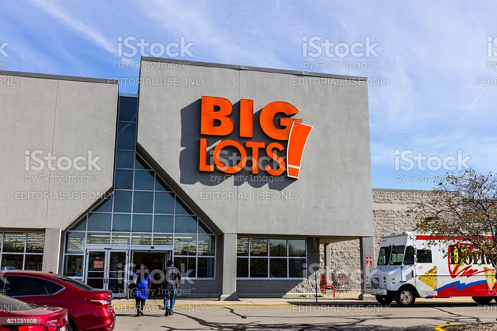 Big Lots Retail Discount Location II stock photo