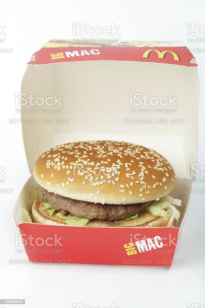 Big Mac royalty-free stock photo