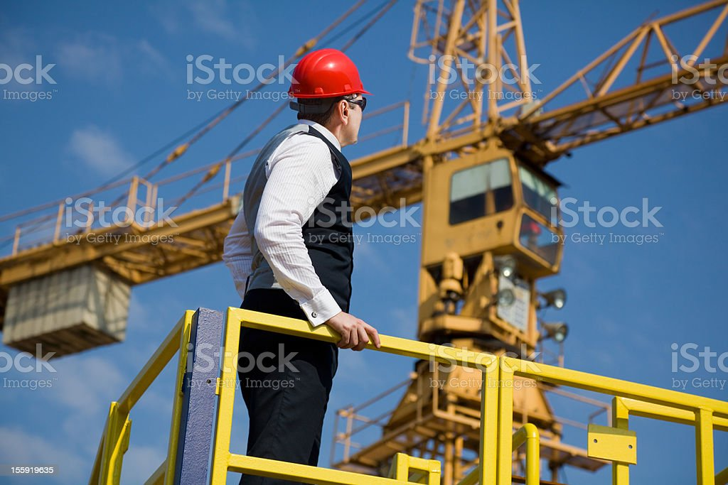 Big Manager royalty-free stock photo