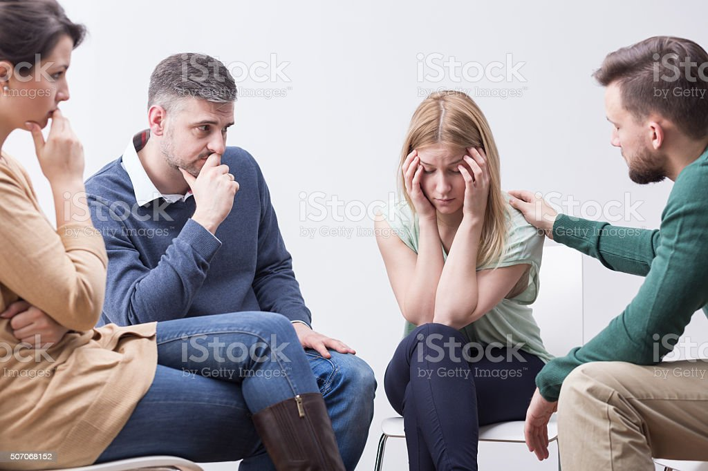 Big mental problems stock photo