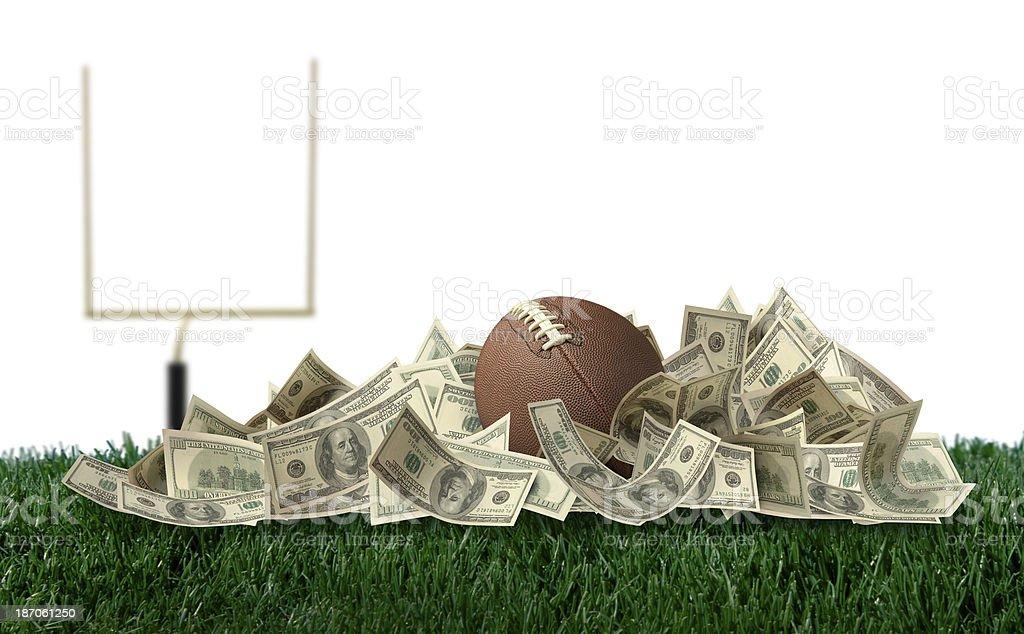 Big Money Football stock photo