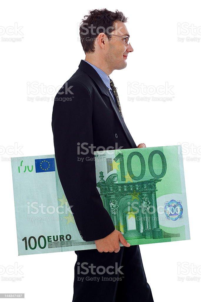 Big money royalty-free stock photo