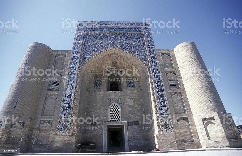 Big mosk in Bukhara royalty-free stock photo