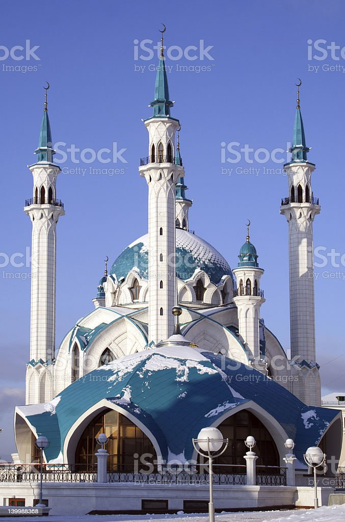 big mosque stock photo