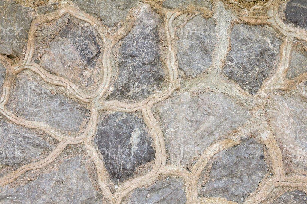 big mountain stone mit abstrakten Linien Hintergrund Lizenzfreies stock-foto