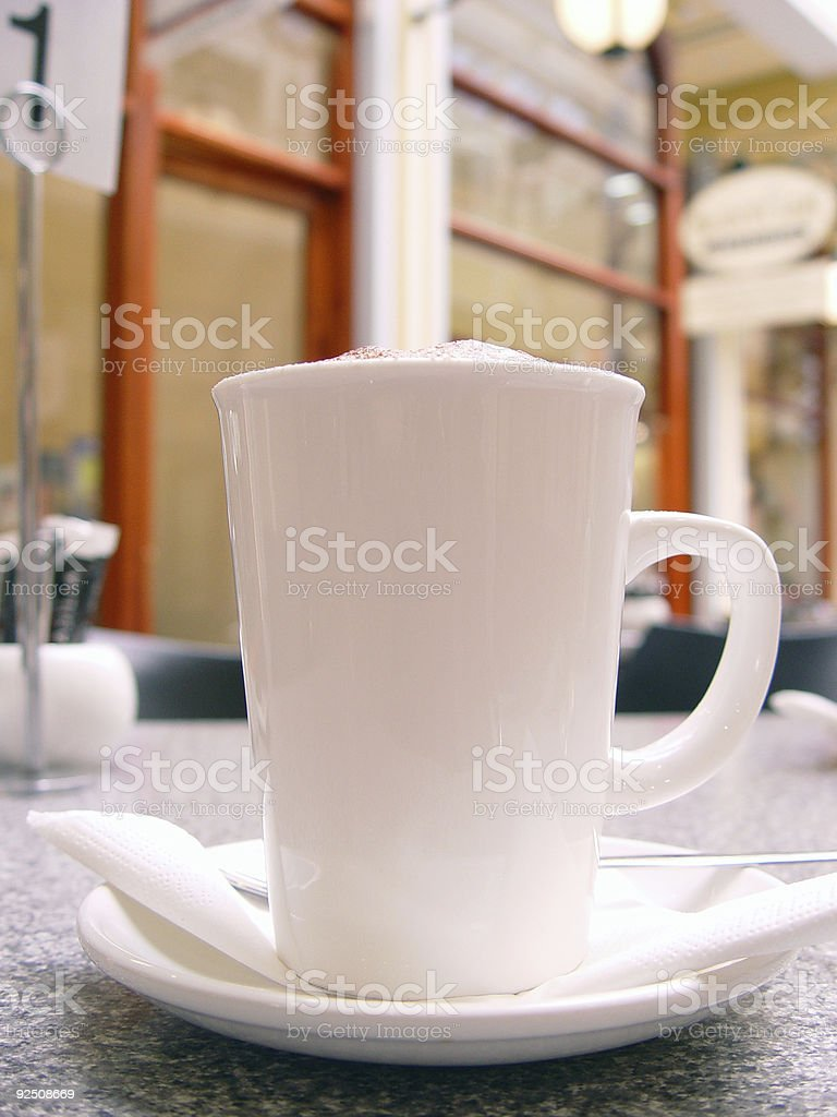 Big mug royalty-free stock photo