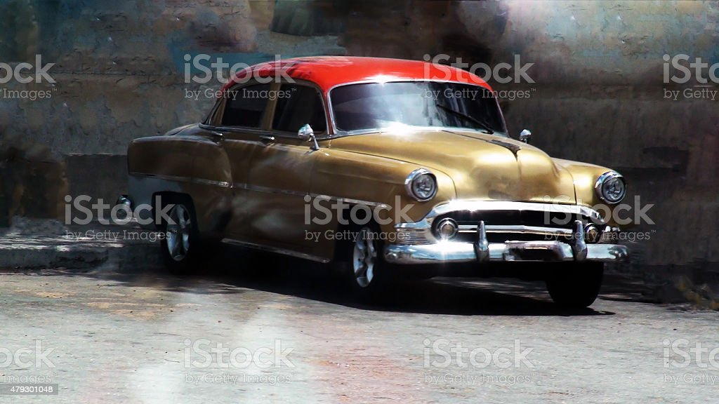 Big Old Lowrider stock photo