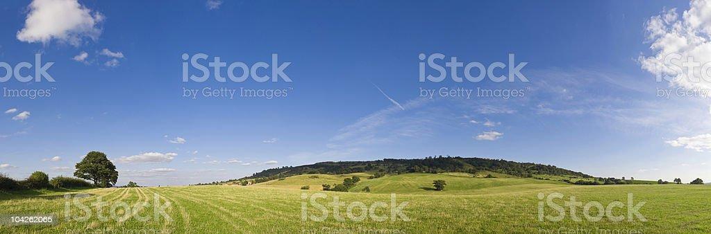 Big open pastures royalty-free stock photo