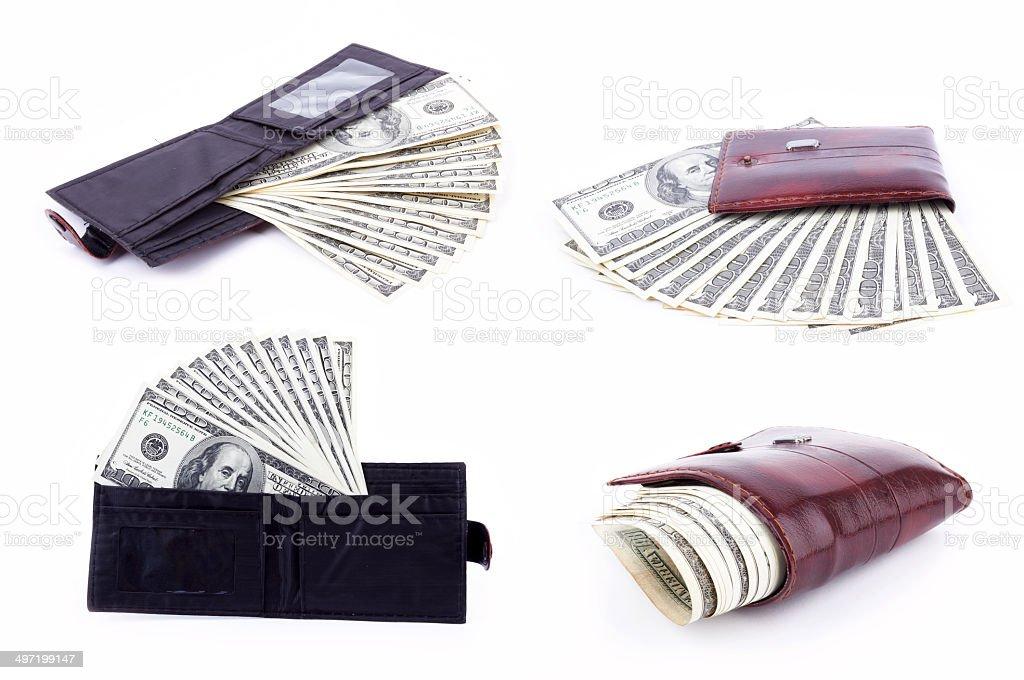 big pack of dollars royalty-free stock photo