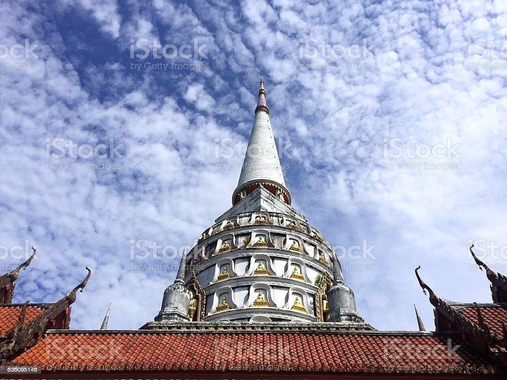 Big pagoda stock photo