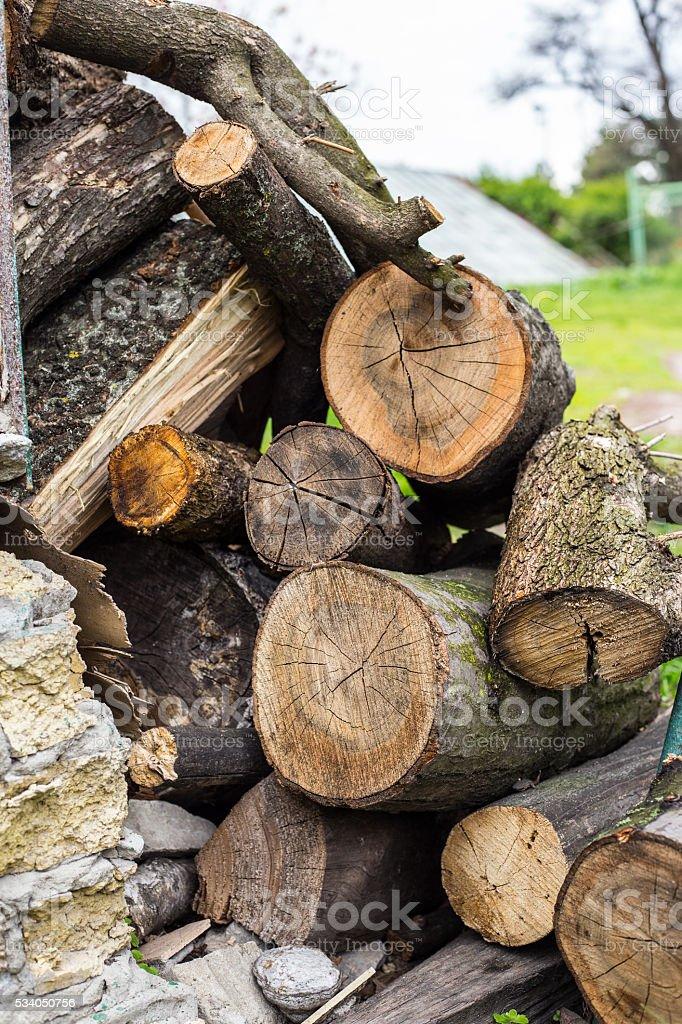big pile of stubs stock photo