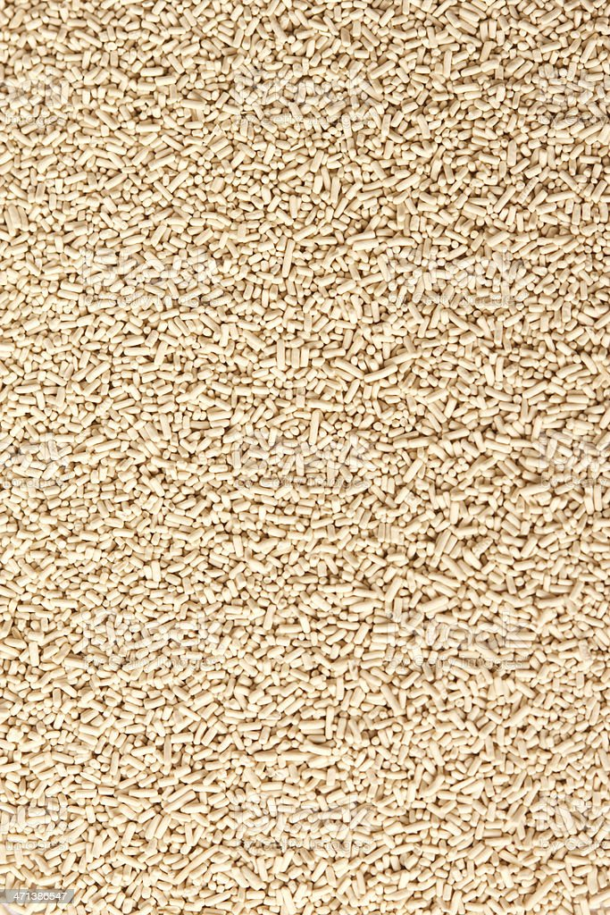 A big pile of yeast as far as one can see  stock photo