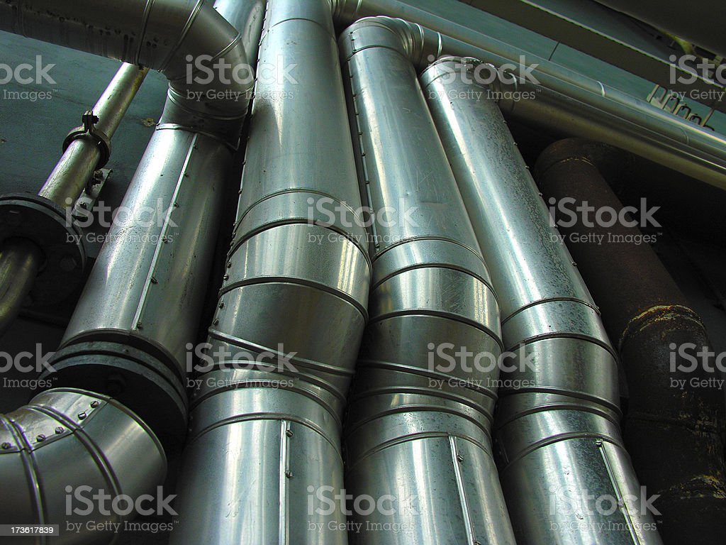 Big Pipes stock photo