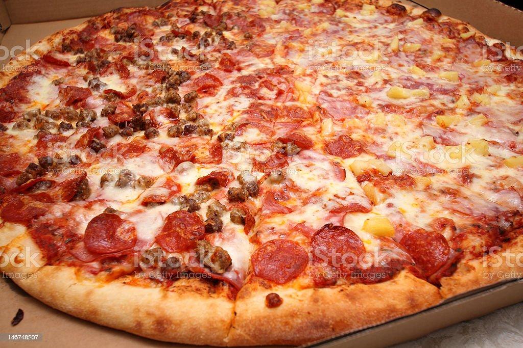 big pizza royalty-free stock photo
