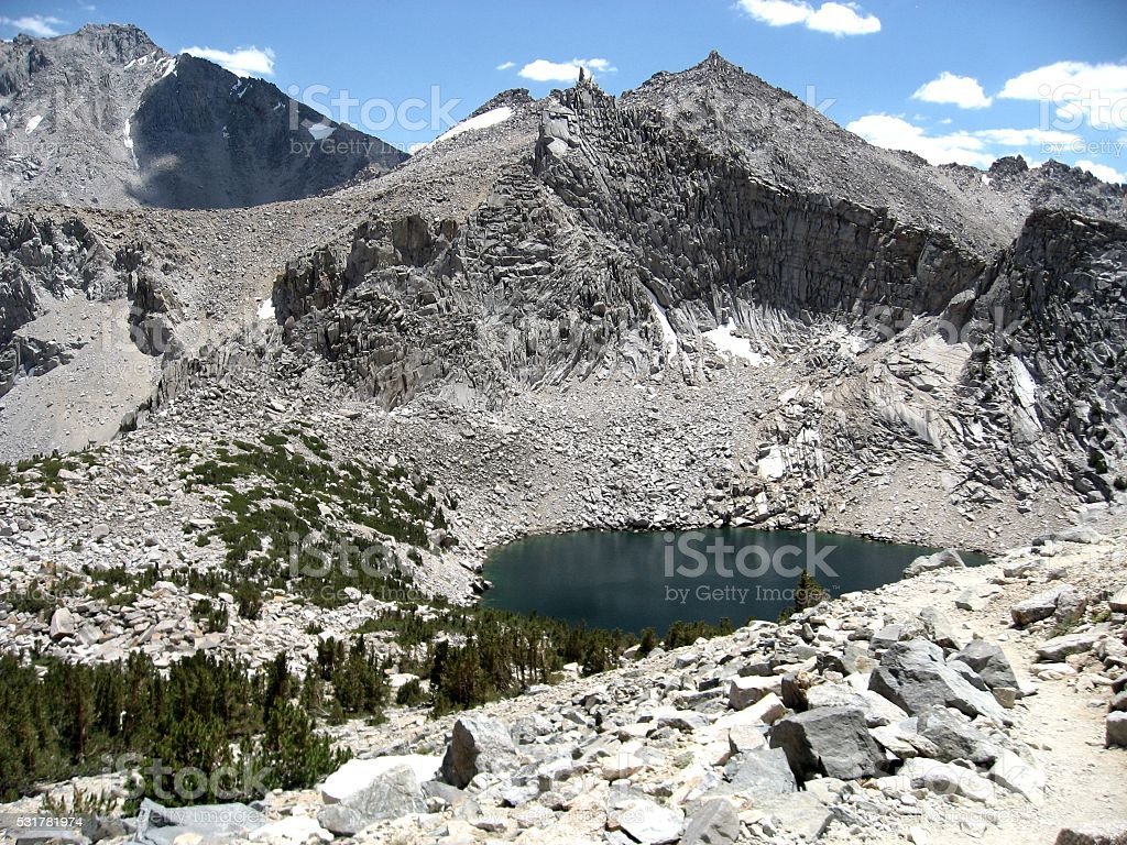 Big Pothole Lake stock photo