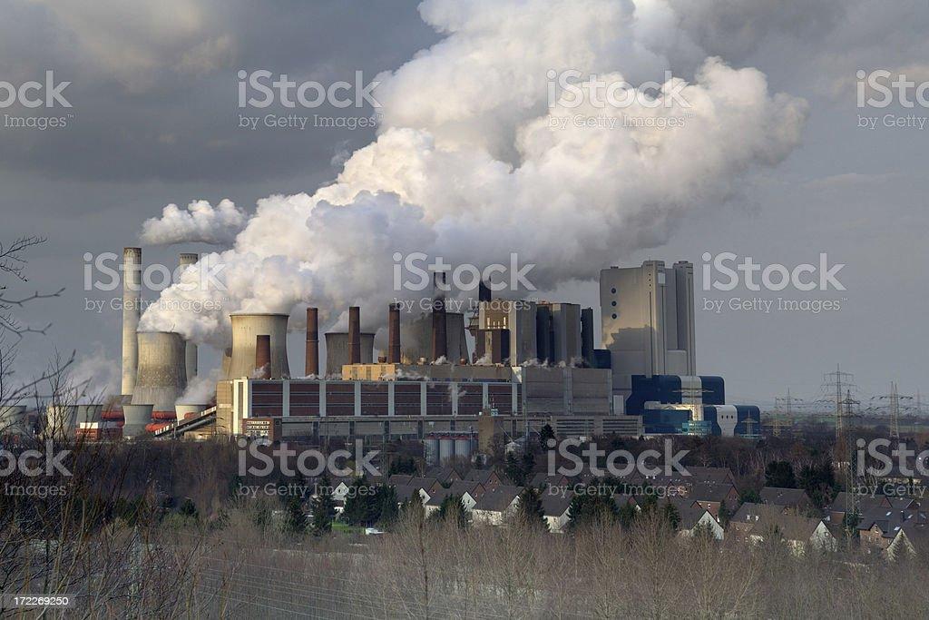 big power plant XXL royalty-free stock photo